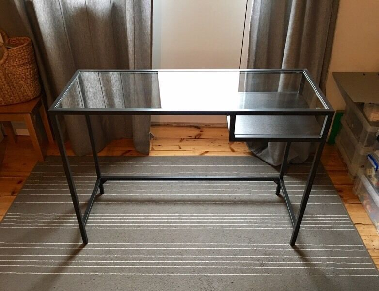 Ikea Vittsjo Laptop Desk Table Great For Small Spaces