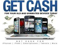 Get Cash iPhone 6s 7 Plus 7 6 6s+ SE iPad Samsung Galaxy s7 Edge s7 s6 s6 Edge Sony HTC Apple Watch