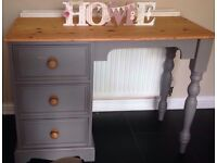 Dressing Table or Desk & Chair