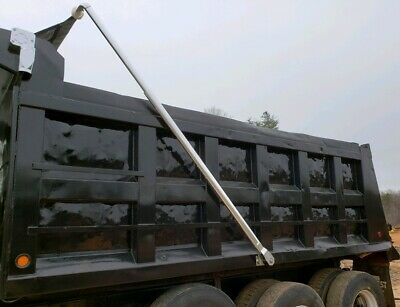 Dump Truck Tarp System 4 Spring Electric Aluminum for Dump Beds up to 24' (Electric Dump Truck)