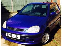 Honda Logo 1.343, 3 door hatchback £495