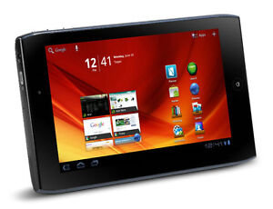 "Acer Iconia A100 7"" Tablet / 8GB / 1024 x 600 Resolution"