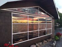 Waterfront chalet - available NOW
