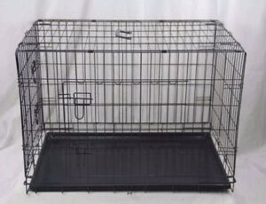 5 sizes Metal Pet Dog Cat Puppy Cage Crate Pen Divider Cover Mat