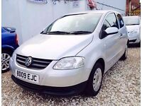 ★🚗★ 2009 VOLKSWAGEN FOX 1.2 PETROL★ 25000 MILES ★ MOT APR 2017 ★ CHEAP & CHEERFUL ★ KWIKI AUTOS★