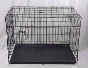 5 sizes Metal Pet Dog Cat Puppy Train Cage Crate Pen+ Divider Oakleigh Monash Area Preview