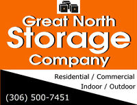 Indoor & Outdoor Storage - Save 10% every month!  (306) 500-7451