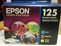 Epson 125 Colour Ink Cartridge Multi-Pack