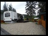 Relax in Luxury. Newer Park Model RV on Titled Kootenay Lake Lot