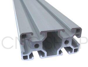 600mm PROFILE 40 -40x80 ALUMINIUM T-SLOT FRAME PROFILE EXTRUSION SYSTEM 4080 CNC