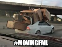 Dependable Moving - Licensed & Insured Pros - Call!
