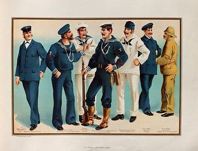 Us Navy Officer Uniform (US Navy Uniform Matrose Sailor Seaman Steward Petty Officer Marine Gewehr Wache)