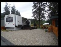 Relax in luxury. Park model RV & lot