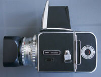 Hasselblad 500c camera 3 Lenses and two A12 backs