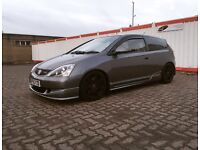 Honda civic type r ep3 prem edition ( kpro modified )
