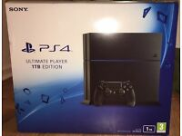 PS4 Ultimate Player Edition with 11 months Manufactures warranty