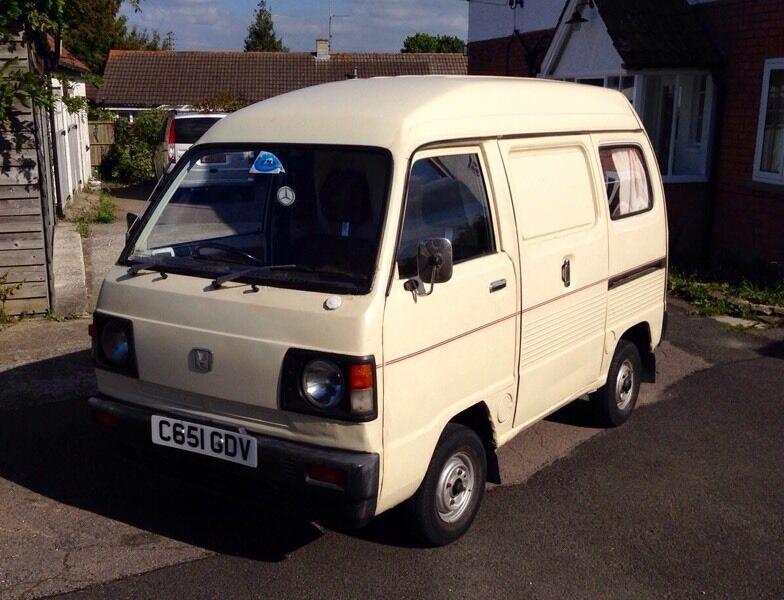 Very Rare 1986 Honda Acty Van, Perfect Mini Surf Van/day