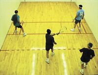 Racquetball players all levels.