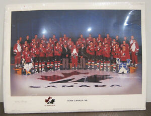 1996 Team Canada World Cup of Hockey Team Photo - Sealed