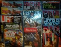 Star Wars related magazines