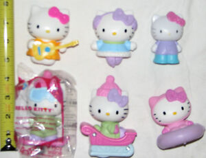 Hello Kitty Spring is Here Book & 6 Toy Figures (Lot # 4) London Ontario image 2