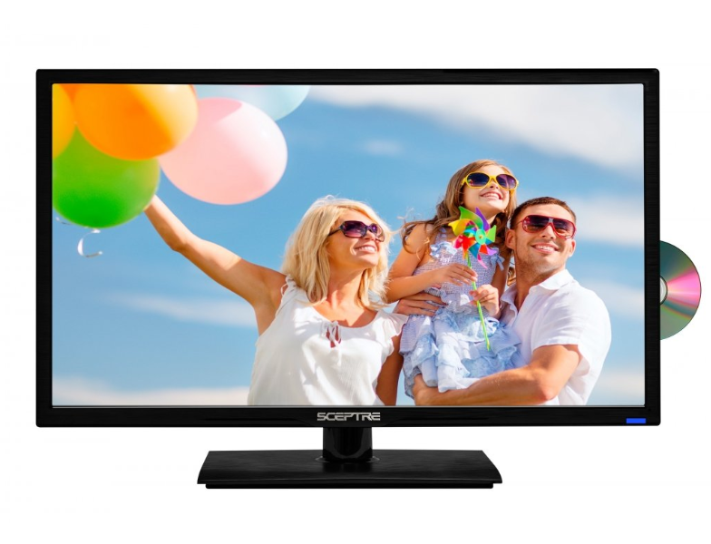 """24"""" 1080P LED HDTV With Built In DVD Player Full HD TV Telev"""