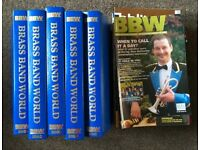 Back issues of Brass Band World magazine