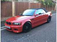 BMW M3 CONVERTIBLE SMGII 2006(55), PART EXCHANGE TO CLEAR