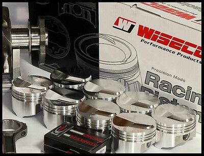 BBC CHEVY 572 WISECO FORGED PISTONS & RINGS 4.560 +30cc DOME KP463A6