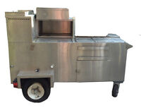 Stainless Steel Mobile Hotdog Stand