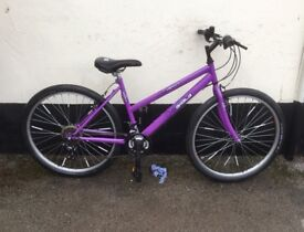 "LADIES BRITSH EAGLE MOUNTAIN BIKE 18"" FRAME £45"