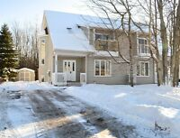 MONCTON NORTH OFFERS THIS TWO STOREY SEMI WITH PRIVATE BACKYARD!
