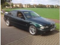 Bmw automatic. Upgraded alloys and good tyres
