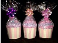 Cup cake socks stocking fillers