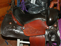 """16"""" Crossover Trail saddle and 15"""" show saddle"""