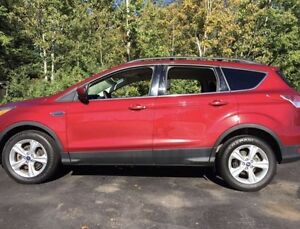 2013 Ford Escape leather