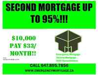 Emergency Mortgage, Second Mortgage, Debt Consoidation