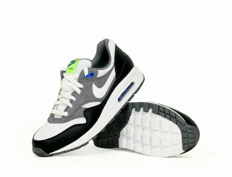BNIB Nike Air Max 1 Trainers Size UK 6 EUR 39 – White/Grey AV4153 002