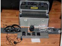 Comfort Audio DC10 Wireless Microphone Transmitter FM Digital Receiver