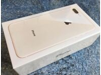 Iphone 8 plus 256gb gold brand new sealed