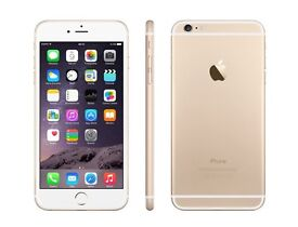 Iphon6 64gb Gold unlocked to any network