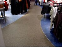 Non slip, very durable rubber flooring