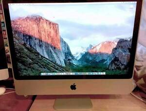 "Apple iMac 24"" 2007 2.4gHz Intel 3GIG Ram 320GB Hard Drive Mount Evelyn Yarra Ranges Preview"