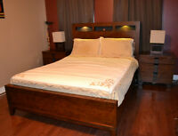 MOVING SALE: 8-Piece Queen Bedroom Set with Mattress