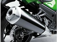 Brand new exhaust for Kawasaki ZZR1400 2012 onwards