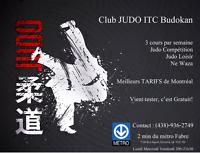 Club de judo Montréal les meilleurs tarifsITC Budokan