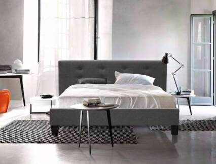 EXCELLENT pillow top king size mattress + fabric material king si