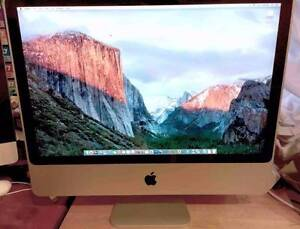 "Apple iMac 24"" 2008 2.8gHz Intel 4GIG Ram 320GB Hard Drive Mount Evelyn Yarra Ranges Preview"