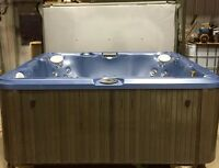 Multiple hot tubs for sale.