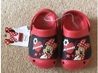 Brand new Mini Mouse Clogs